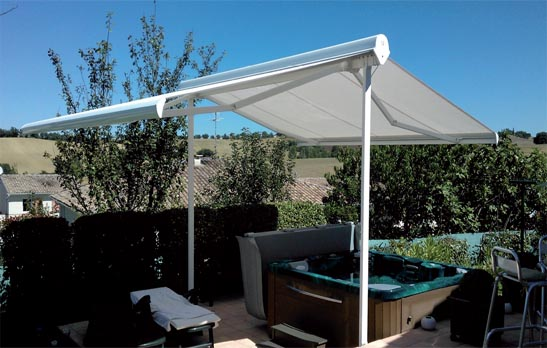 Double terrace awnings estepona