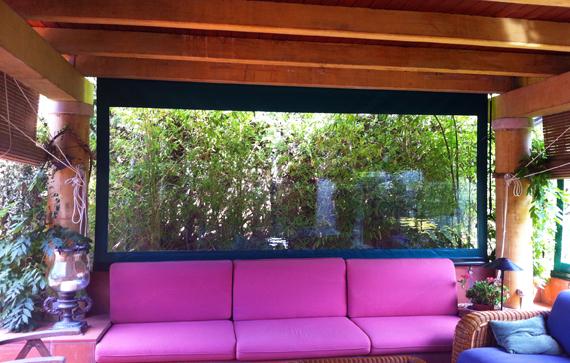 Vertical awnings marbella estepona