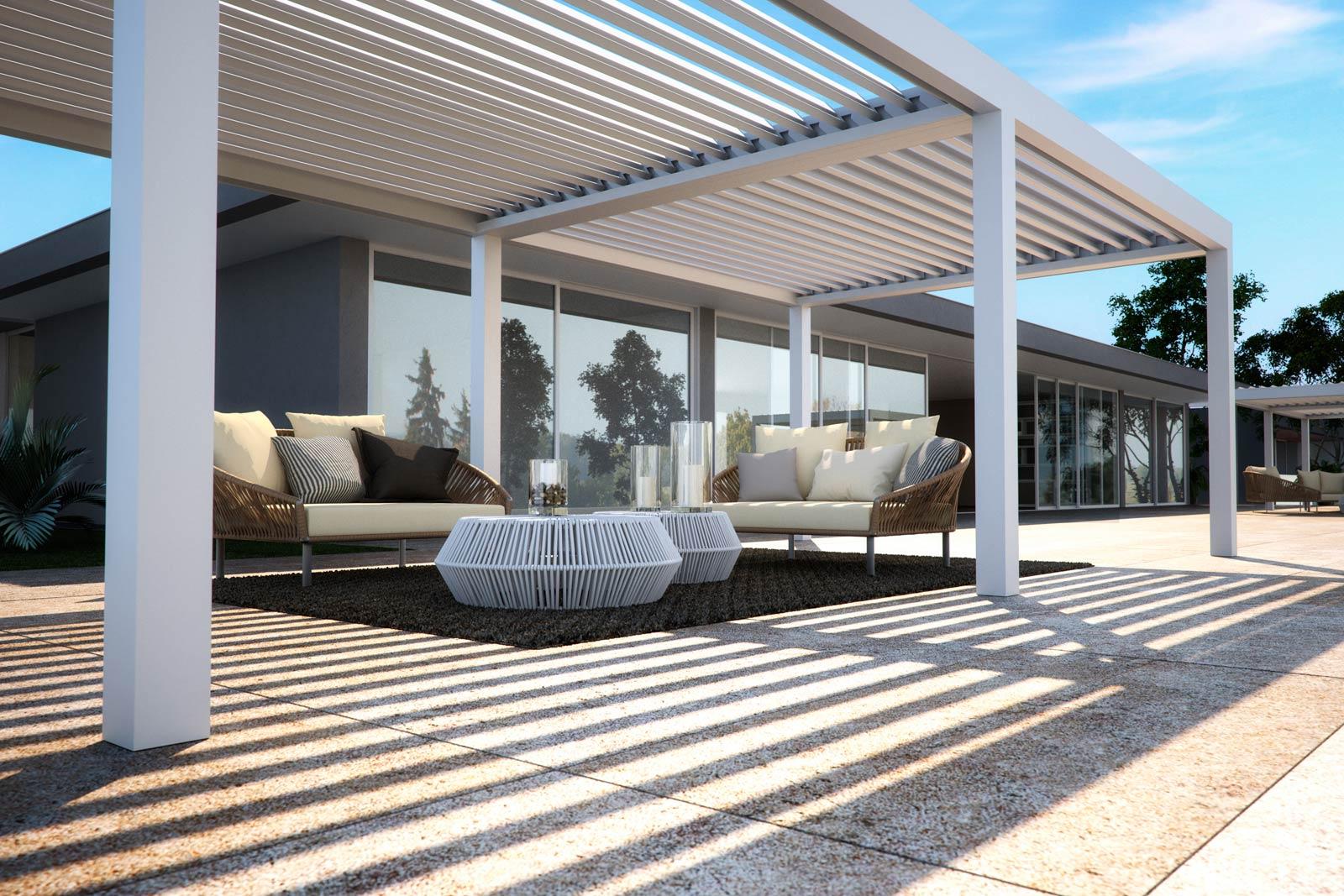 bioclimatic terrace cover estepona