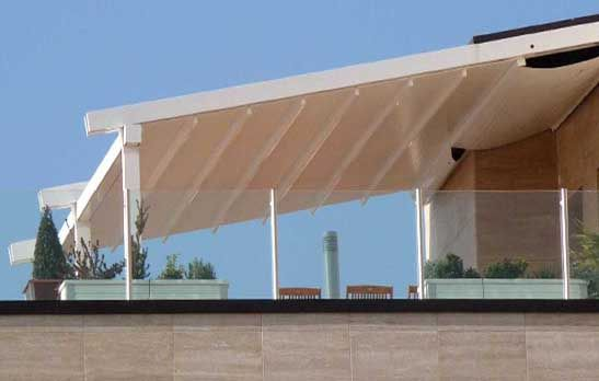 Aluminium pergolas Estepona Marbella